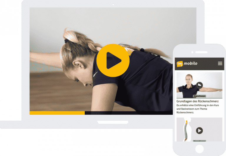 Therapie- & Trainingszentrum - Stützpunkt - Physio- & Ergotherapie - Online-Präventionskurs Rücken Fit